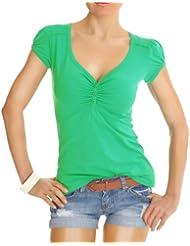 n.n t-shirt femme, t-shirt top, chemise t01p