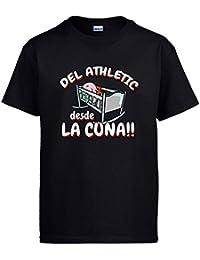 Diver Camisetas Camiseta del Athletic Desde la Cuna Bilbao fútbol