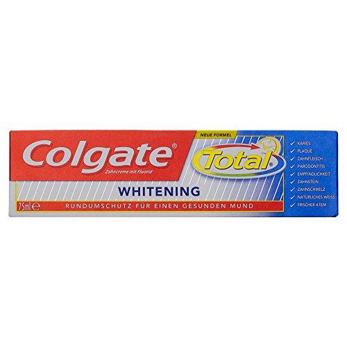 Colgate Total Whitening Zahnpasta, 75 ml - Non-stop-mint