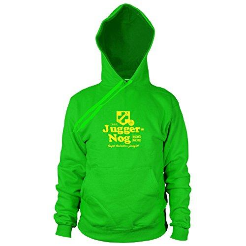 Preisvergleich Produktbild Juggernog - Herren Hooded Sweater,  Größe: S,  Farbe: grün