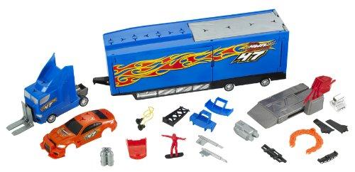 Hot Wheels - Camion de dépannage avec voiture tuning (Mattel R5485)