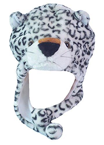 Honeystore Tiermütze Tier Mütze Plüsch Plüschmütze Verkleidung tiger Strickmütze Mehrfarbig-02 (Prada Herren-köln)