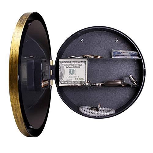 Caja de seguridad digital Reloj de pared Caja fuerte Caja fuerte Caja fuerte de seguridad for el hogar...