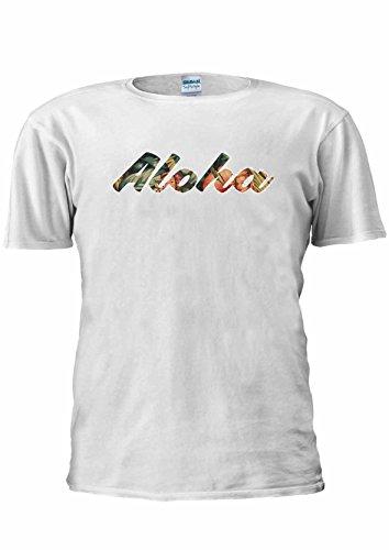 Aloha Pin Up Girl Hawaii Hawaiian Popular Unisex T Shirt Top Men Women Ladies-S