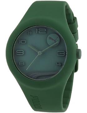 Puma Herren-Armbanduhr XL Analog Quarz Silikon A.PU103001007