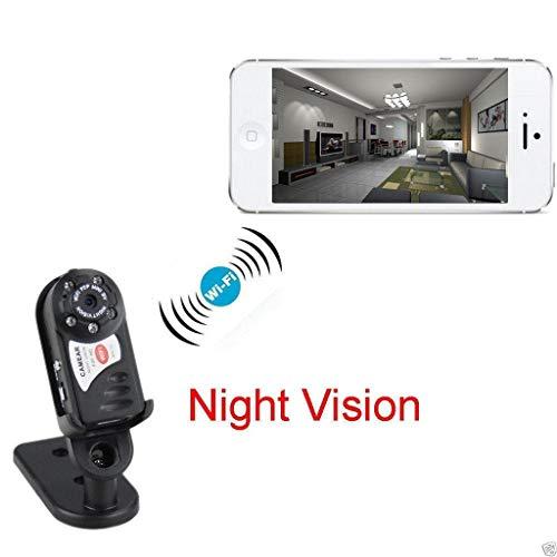 Yusell HD IP Mini Q7 WiFi Kamera Sicherheit Versteckter Drahtloser IP Nachtsicht Monitor Multifunktionale Mini-Kameras US