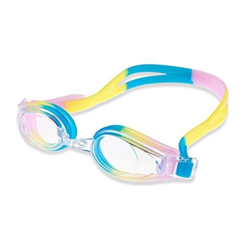 Sunny Honey Schwimmen-Schutzbrillen-Flache Spiegel Anti-Nebel HD Schutzbrillen Für Erwachsene Teenager-Männer Und Frauen (Farbe : B)