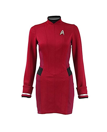 Mail Store Damen Rot Kleid Uniform Cosplay Kostüm (XXL, ()