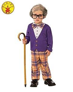 Rubies - Disfraz de pequeño hombre viejo para niño, talla 5-6 años (Rubies 510575-M)