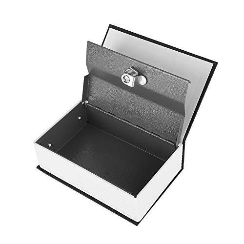 ASHATA Buchtresor Buch-Safe, Vintage Buchtresor mit Schlüssel English Dictionary Safe Box,Tragbar...