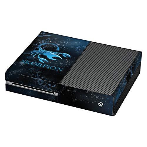 DeinDesign Skin Aufkleber Sticker Folie für Microsoft Xbox One Sternzeichen Skorpion Scorpion - Skorpion-controller Xbox 360