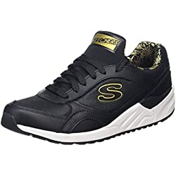 Skechers Og 95-Hug It Out, Allenatori Donna, Nero (Black), 40 EU