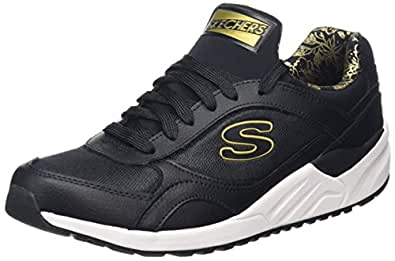 Skechers Damen OG 95-Hug It Out Ausbilder, Schwarz (Black), 37 EU