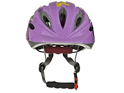Tuzii Pyxis Butterfly In Mould Kids Girls Childs Bike Skate Scooter Safety Adjustable Helmet 47-52cm Purple by Tuzii