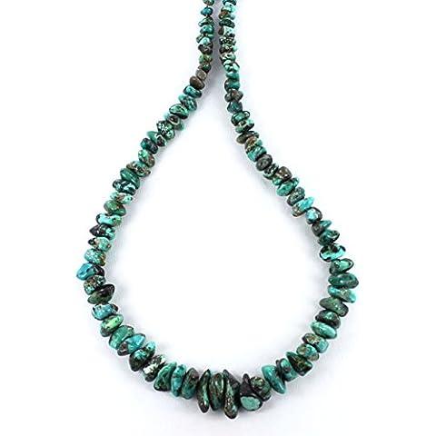 CARGA lago turquesa TRULLO NEGRO perlas de la pepita