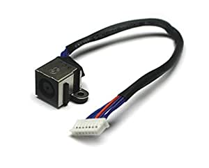 DELL XPS 15L502X Version 1(veuillez vérifier l'image) Compatible pour ordinateur portable DC Jack Socket avec câble