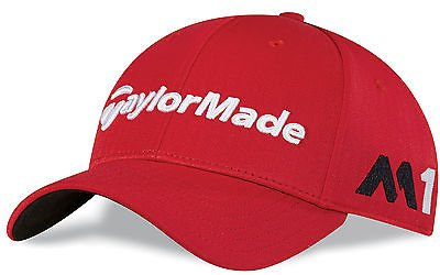 taylormade-tm16-tourradar-cap-for-men-red-one-size