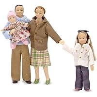 Melissa & Doug - Familia de muñecos victoriana (12587)