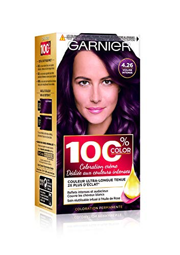 Garnier 100% Color Coloration Permanente 4.26 Violine Intense violet