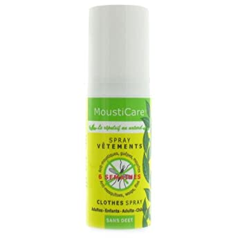 Mousticare - Répulsif Naturel Spray Vêtements - 50 ML