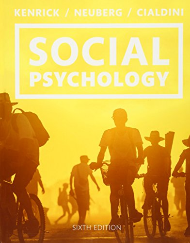 social psychology wa1