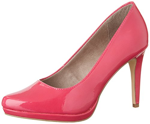 Tamaris Damen 22448 Pumps, Pink (Fuxia 513), 36 EU