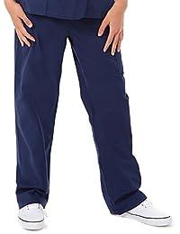 Prestige Medical 401-NAV-S - Pantalones de enfermero unisex, talla S, color azul marino