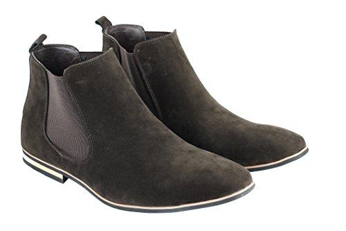 Xposed , Boots montantes Chelsea homme Marron