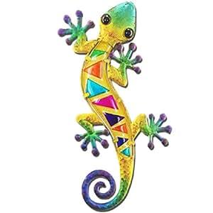 Salamander decorazione da parete 37cm–giallo modello