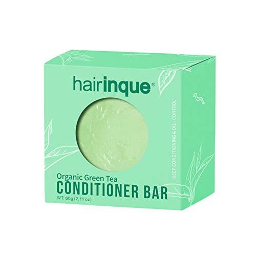 Allouli Green Tea Fragrance Hair Conditioner Handmade Soap Shampoo Bar Moisturizing Nourishing Hair Care - Fragrance Free Shampoo Conditioner