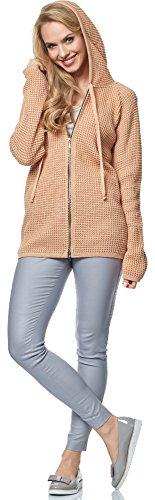 Merry Style Cardigan per Donna MSSE0031 Aprikose