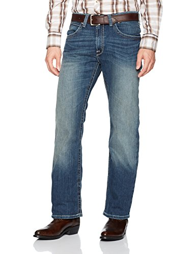 Ariat Men's M4 Low Rise Boot Cut Jean, Flex Stretch Phoenix, 32X38 -