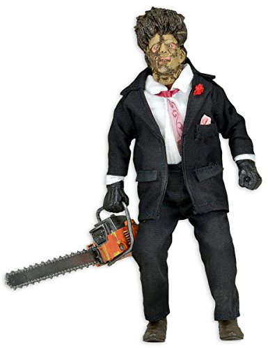 (Texas Chainsaw Massacre Actionfigur Leatherface, (H: 20cm) aus Kunststoff)
