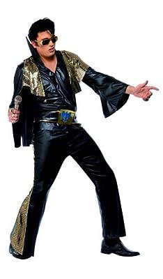 Déguisement De Rocker Elvis Presley©Noir