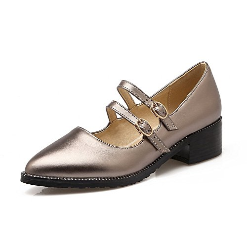 allhqfashion-womens-pointed-closed-toe-buckle-pu-solid-kitten-heels-pumps-shoes-gray-36