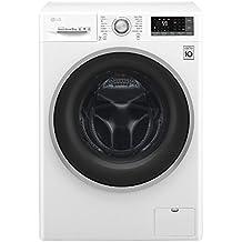 LG F4J7TN1W lavatrice Libera installazione Caricamento frontale Bianco 8 kg 1400 Giri/min A+++-40%