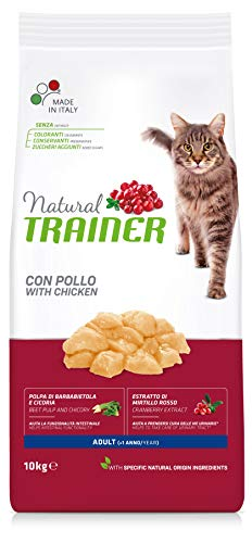 Trainer Natural Cat Adult con Pollo 10 kg - 10000 Gr