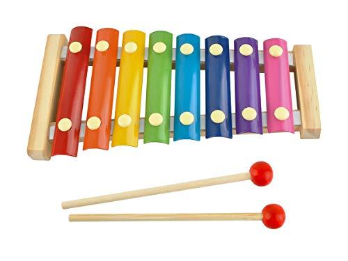 ISO TRADE Xilofono colorato per Bambini - Legno + 2 Mazze #6078
