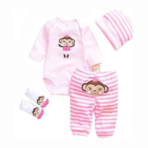 Mode Neugeborenes Baby Kleidung Reborn Baby Mädchen Puppe Kleidung Für 20-22 Zoll 50-55 cm Puppe Geschenke,I