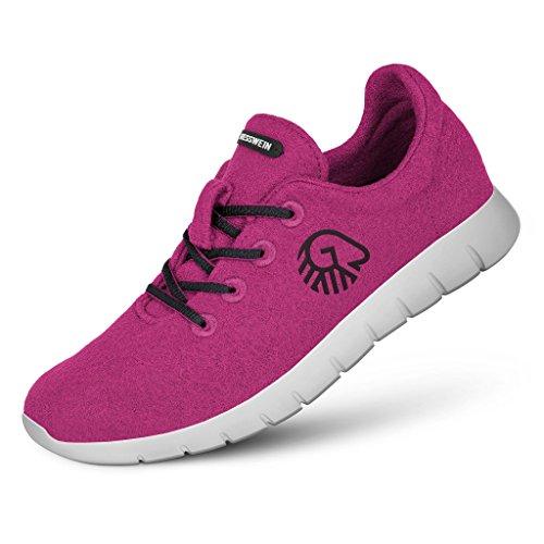 Giesswein Woll-Sneaker Merino Runners WOMEN 41, lila