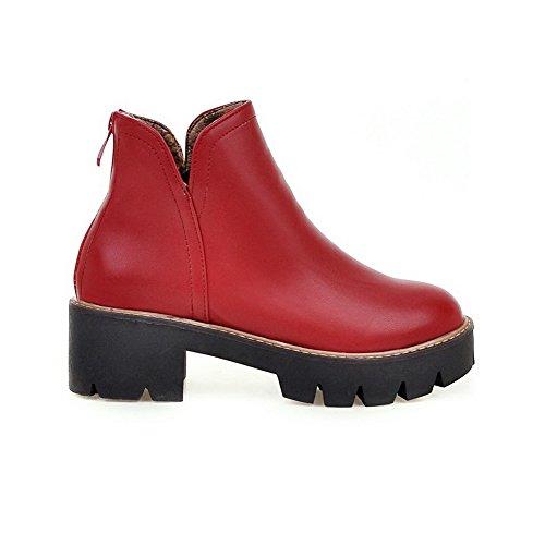 AdeeSu , Sandales Compensées femme red