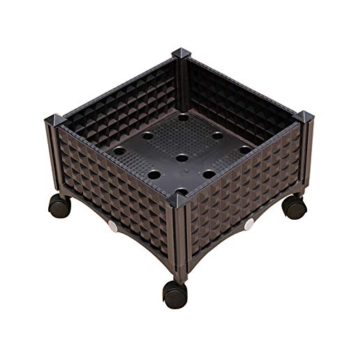 Erhöhte Garten Bett Kit, Wasserspeicher, Kältebeständig, Balkon/Garten / Dachterrasse DIY Gemüse Pflanzbox Mit Rädern