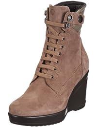Samsonite EASY CHIC MID CAMOSCIO MUD - Zapatos clásicos de ante mujer