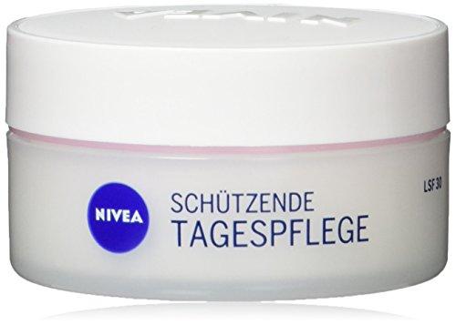 Nivea Schützende Tages-Gesichtspflege für trockene und sensible Haut, Tiegel, 2er Pack (2 x 50 ml)