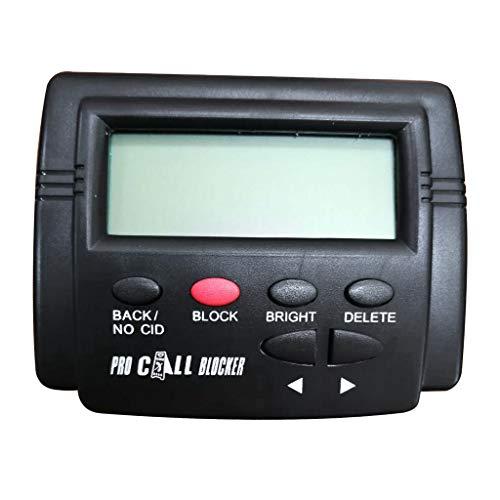 perfk Call Blocker 1500 Numbers Capacity Ferma Tutte Le Chiamate A Freddo per I Telefoni Fissi