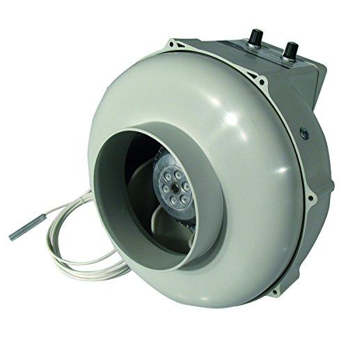 PK Tubo Ventilatore 125ctrl 400m³/h con controllo temperatura
