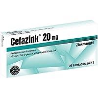 Cefazink 20 mg Tabletten, 20 St. preisvergleich bei billige-tabletten.eu
