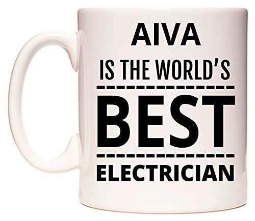AIVA Is The World's BEST Electrician Tasse de WeDoMugs