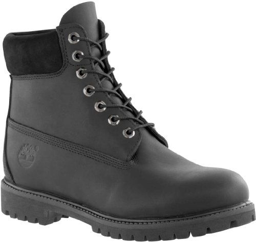 Timberland 6in premium boot, Boots homme Noir lisse