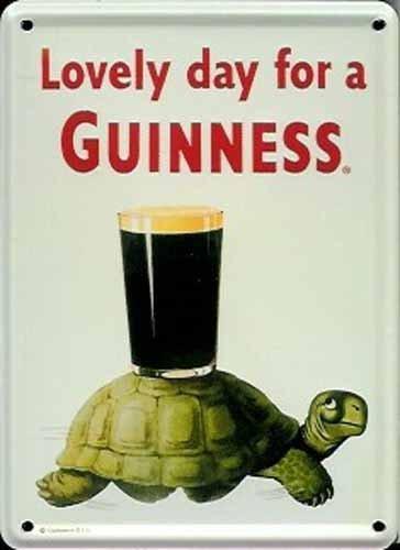 guinness-panneau-signe-pub-irlandais-bar-cafe-etain-metal-petit-verre-de-biere-sur-dos-de-tortue-lov